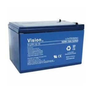 VISION LFP1215 LiFePo4  Lithium Akku - 12V 15Ah