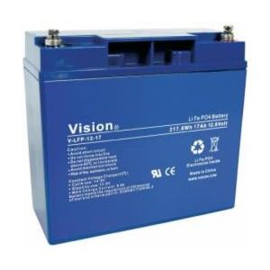 VISION LFP1217 LiFePo4  Lithium Akku - 12V 17Ah