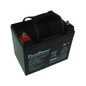 FirstPower LFP1233 12V 33Ah Blei-Akku / AGM Batterie