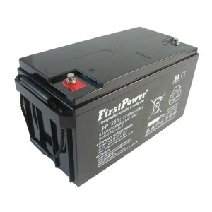 FirstPower LFP1265 12V 65Ah Blei-Akku / AGM Batterie