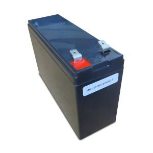 Batteriekit für APC USV RBC106 komplett vormontiert inclusive Einbauwanne, Verbinder, Stecker