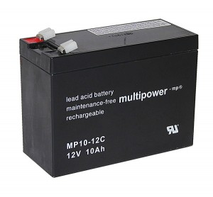 Multipower MP10-12C 12V 10Ah Blei-Akku / AGM Batterie Zyklenfest