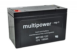Multipower MP100-12C 12V 100Ah Blei-Akku / AGM Batterie Zyklenfest