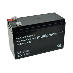 Multipower MP1235HL 12V 8,5Ah Blei-Akku / AGM Batterie Hochstrom
