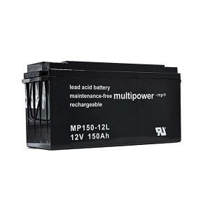 Multipower MP150-12L 12V 150Ah Blei-Akku / AGM Batterie Longlife