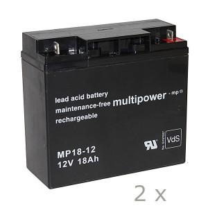 Batteriesatz für APC RBC7 (Multipower)
