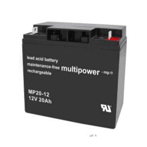 Multipower MP20-12 12V 20Ah Bleiakku / AGM Batterie