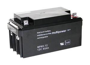 Multipower MP65-12 VdS 12V 65Ah Blei-Akku / AGM Batterie