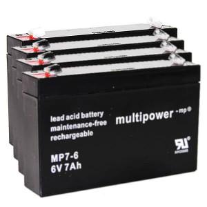 Batteriesatz für APC RBC34 (Multipower)