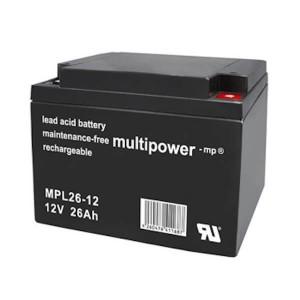 Multipower MPL26-12 12V 26Ah Blei-Akku LongLife