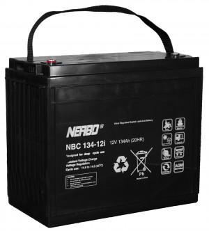 Nerbo NBC 134-12i - 12V 134Ah VRLA-AGM Akku Batterie Zyklentyp