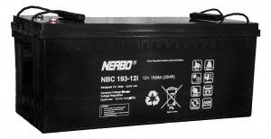 Nerbo NBC 193-12i - 12V 193Ah VRLA-AGM Akku Batterie Zyklentyp