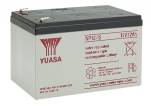 Yuasa NP12-12 12V 12Ah Blei-Akku / AGM Batterie