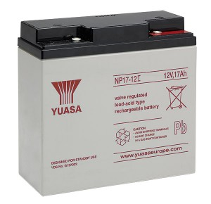 Yuasa NP17-12 12V 17Ah Blei-Akku / AGM Batterie