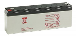 Yuasa NP2.3-12 VdS 12V 2,3Ah Blei-Akku / AGM Batterie