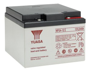 Yuasa NP24-12I 12V 24Ah Blei-Akku / AGM Batterie