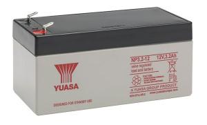 Yuasa NP3.2-12 12V 3,2Ah Blei-Akku / AGM Batterie