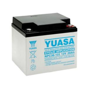 Yuasa NPC38-12I 12V 38Ah Blei-Akku / AGM Batterie Zyklenfest