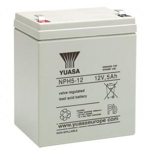 Yuasa NPH5-12 12V 5Ah Blei-Akku / AGM Batterie Hochstrom