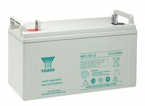 Yuasa NPL100-12 12V 100Ah Blei-Akku / AGM Batterie Longlife