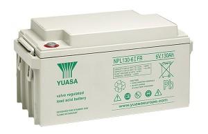 Yuasa NPL130-6IFR 6V 130Ah Blei-Akku / AGM Batterie Longlife