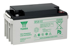 Yuasa NPL65-12I 12V 65Ah Blei-Akku / AGM Batterie Longlife