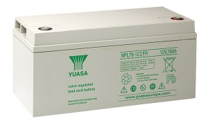 Yuasa NPL78-12IFR 12V 78Ah Blei-Akku / AGM Batterie Longlife