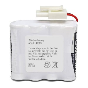 Alkaline Batterie-Pack 6V für Safe-O-Pin 3850000.020.000