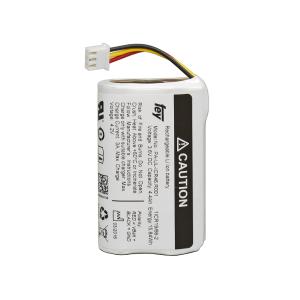 Lithium-Ionen Li-Ionen Akkupack 3,6V 6,7Ah 24Wh 1S2P mit Kabel und Stecker