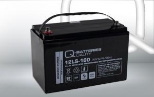 Q-Batteries 12LS-75 12V 78Ah AGM Batterie Akku