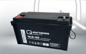 Q-Batteries 12LS-120 12V 128Ah AGM Batterie Akku
