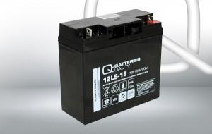 Q-Batteries 12LS-18 12V 18Ah AGM Batterie Akku VdS