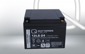 Q-Batteries 12LS-24 12V 24Ah AGM Batterie Akku VdS