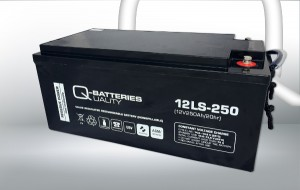 Q-Batteries 12LS-250 12V 250Ah AGM Batterie Akku