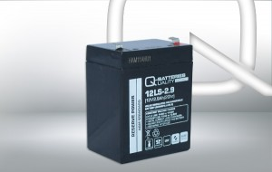 Q-Batteries 12LS-2.9 12V 2,9Ah AGM Batterie Akku