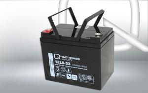 Q-Batteries 12LS-33 12V 35Ah AGM Batterie Akku