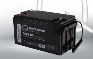 Q-Batteries 12LS-80 12V 82Ah AGM Akkumulator