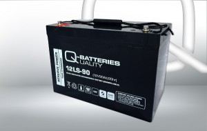 Q-Batteries 12LS-90 12V 90Ah AGM Batterie Akku