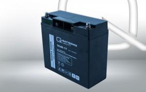 Q-Batteries 12LSX-17 12V 17Ah AGM Batterie Akku Longlife