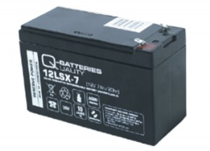 Q-Batteries 12LSX-7 12V 7Ah AGM Batterie Akku Longlife