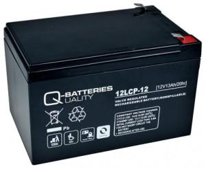 Quality-Batteries 12LCP-12 12V 13Ah Blei-Akku / AGM Batterie Zyklentyp