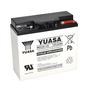 Yuasa REC22-12I 12V 22Ah Blei-Akku / AGM Batterie Zyklentyp