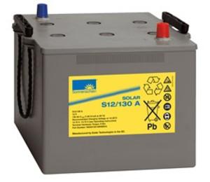 Sonnenschein Solar S12/130 A 12V 130Ah Blei Gel-Batterie