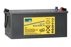 Sonnenschein Solar S12/230 A 12V 230Ah Blei Gel-Batterie
