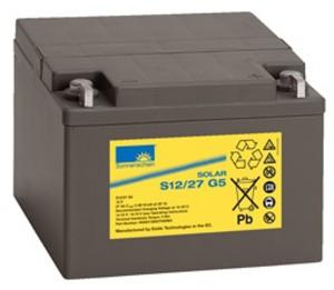 Sonnenschein Solar S12/27 G5 12V 27Ah Blei Gel-Batterie