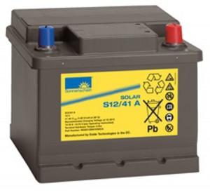 Sonnenschein Solar S12/41 A 12V 41Ah Blei Gel-Batterie