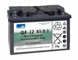 Blei-Gel Akku für 4F Spaltenschieber Limpar SP 94 - 12V 56Ah zyklenfest
