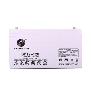 Inbatt SP12-120 AGM Batterie 12V 120Ah Long Life Akku