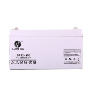 Inbatt SP12-150 AGM Batterie 12V 150Ah Long Life Akku