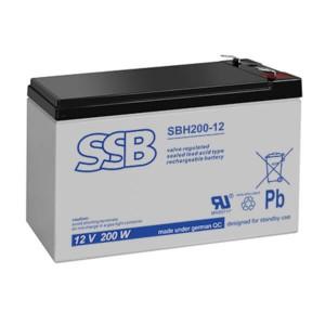 SSB SBH200-12 Akku / Batterie - 12V 200W AGM Hochstrom
